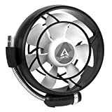 ARCTIC Summair Light - Mobiler USB Ventilator für den Schreibtisch I Tischventilator / Standventilator | geräuscharmes Betriebsgeräusch - Schwarz
