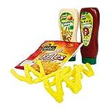 Tanner 0062.7 - Mc Cain Pommes mit Ketchup und Mayo, Spiel Lebensmittel