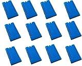 12 Stück Kühlakkus Kühlelemente ( 12h Akkus ) iceblocks freeze packs für Kühltasche Kühlbox , iapyx