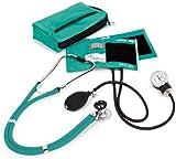 NCD Medical Sprague Stethoskop mit Blutdruckmessgerät + Federmäppchen passender Teal