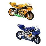 MagiDeal Druckguss-Legierung Motorrad Modell diecast Motorrad Motorrad Spielzeug Dekor Mit Licht Und Ton