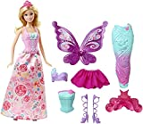 Mattel Barbie DHC39 - Dreamtopia Bonbon Königreich 3-in-1 Fantasie Barbie Puppe