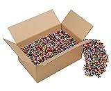 Bügelperlen-Set Kinder Midi-Bügelperlen, Gruppenset, 28.000 Bügel-Perlen, 10 Farben, inkl. 7 transparente Steckplatten