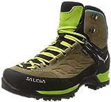 Salewa Damen WS MTN Trainer Mid Gore-Tex Trekking-& Wanderstiefel, Braun (Walnut/Swing Green 2720), 40 EU