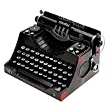 Retro-Vintage-Schreibmaschine Modell Metalldekoration Literatur und Kunst Stil zu Hause Handwerk