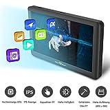 sunways Navi 5 Zoll Navigation für Auto Touchscreen LKW Navigationsgerät mit Blitzerwarnung Sprachführung Fahrspurassistent mit EU UK 52 Karten 2019 Ausführung Lebenslang EU-Karten