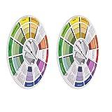 P Prettyia 2 PCS Farbmischrad