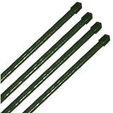 20 Pflanzstäbe grün Ø11mm im Set: 10x 900 mm + 10x 1200 mm