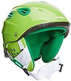 ALPINA Kinder Skihelm Grap Junior Green, 51-54