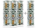 MISWAK Siwak, 100% Natur Zahnputzholz, Bio Zahnbürste, mit natürlichen Mineralstoffen für weisse Zähne und Sauberkeit, 3 + 1 Set, (4 Stück, 9 - 15mm), Vegan