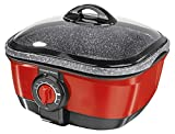 GOURMETmaxx 03648 Multikocher 8 in 1, ersetzt zahlreiche Küchengeräte, 1500 W