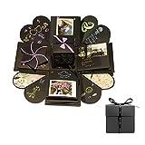 Tumao Kreative Überraschung Explosion Box DIY Fotoalbum Handgemachtes Scrapbook Faltendes Foto-Album, Geburtstag Jahrestag Valentine Hochzeit Geschenk,für Hochzeit, Muttertag, DIY Geschenk
