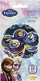 Decocino Muffinaufleger Frozen HOCHWERTIGE Kuchendeko von DEKOBACK   essbare Muffinaufleger   Disney Frozen Backdeko   12 Stück   1er Pack (1 x 21 g)   Eiskönigin Muffin und Kuchen Deko kaufen