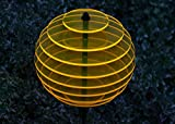 sabro-design Sonnenfänger Kugel Ø15cm (Sonnengelb) Leuchtscheibe Dekoration