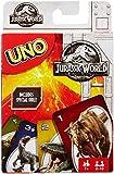 Mattel FLK66 - Jurassic World UNO Spiele
