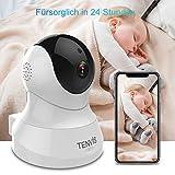 Tenvis Wireless 1080P HD Babyfon- WiFi Babymonitor IP Kamera Nachtsicht IR Infrarot Indoor Sicherheit