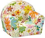 Kindersessel Babysessel Kindermöbel Ludger, für Mädchen und Jungen, Motiv Blumenfee
