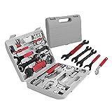 Fahrrad Werkzeugkoffer ICOCO Fahrrad Werkzeug Set,Fahrradwerkzeug für Fahrrad Montagearbeiten und Reparaturen,Komplettset Werkstatt (44 tlg)