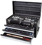 KS Tools 918.0250 1/4'+3/8' CHROMEplus Universal-Werkzeug-Satz, 99-tlg.