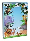 Idena 12026 - Einsteckalbum, FSC Mix, 25,5 x 18,5 x 5,5 cm, Dschungel
