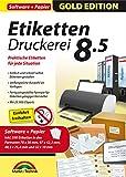 Etiketten Druckerei 8.5 + 590 Etiketten GRATIS für Windows 10, 8.1, 7, Vista - Praktische Etiketten für jede Situation