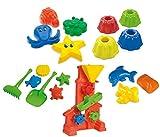 Riesiges Sandspielzeug Set mit Sandmühle 15 Sandformen Guglhupf uvm