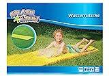 Splash & Fun Wasserrutsche, gelb, ca. 600 x 80 cm