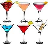 Martini-Gläser - 175 ml - 6 Stück im Geschenkkarton