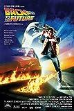 Back to The Future Michael J. Fox Christoph Filmposter Zurück in die Zukunft - Grösse 61x91,5 cm + 1 Ü-Poster der Grösse 61x91,5cm