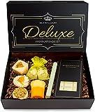 BRUBAKER 8 teiliges Bio Badepralinen Geschenkset Deluxe Orange Lemon - Vegan - Natürliche Inhaltsstoffe - Olivenöl, Sheabutter, Kokosöl, Kakaobutter - Handgemacht - inkl. Geschenkbox