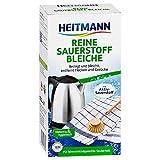 Heitmann Reine Sauerstoff-Bleiche 375g: für hygienische Sauberkeit im Haushalt, hohe Waschkraft mit Soda und Sauerstoff Ð bleicht und entfernt zuverlässig Flecken von Oberflächen und aus Textilien