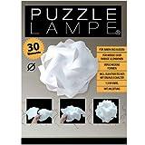Puzzle Lampe - Grösse S - im Geschenkkarton mit Kabel