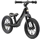 BIKESTAR Magnesium (superleicht) Kinderlaufrad Lauflernrad Kinderrad für Jungen und Mädchen ab 3 - 4 Jahre  12 Zoll Kinder Laufrad BMX Ultraleicht  Schwarz