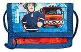 Undercover Geld- und Brustbeutel, Feuerwehrmann Sam, Circa 8 x 13 x 5 Münzbörse, 13 cm, Rot