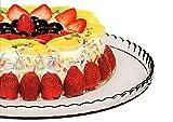 Pasabahce 10345 - Tortenplatte, Kuchenplatte, Cupcake Platte, Serie 'Patisserie', Ø 32,2cm