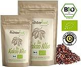 Kakaonibs Roh Bio Vegan (200g) ohne Zuckerzusatz Kakao Nibs aus der Criollo Kakao-Bohne vom-Achterhof