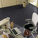 Gerflor selbstklebende Vinyl-Fliesen - Design Slate Anthracite 0220 Vinyl Fußbodenbelag 5m² pro Paket Vinylboden