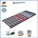 Ravensberger Matratzen Meditec Lattenrost   5-Zonen-TPEE-Teller-Systemrahmen   Schichtholzrahmen  Starr  MADE IN GERMANY - 10 JAHRE GARANTIE   TÜV/GS 100 x 200 cm