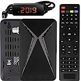 Echosat OM-26100 Mini Sat Receiver -DVB S/S2 Satelliten Receiver Full HD 1080 P HDMI 2 x USB 2.0 HDTV [Digital Satelliten Receiver] ️{Astra Hotbird Türksat }️-Schwarz