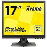 iiyama ProLite E1780SD-B1 43cm (17 Zoll) LED-Monitor SXGA (VGA, DVI) schwarz