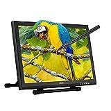 Ugee 1910B 19 Zoll Grafiktablett, Zeichnung Tablette mit LCD Bildschirm und Einstellbar Monitor Anzeigen Stand w / 2 x Intelligenter Stift, 4000LPI 2048 Druckstufen 1440 x 900 Pixel Auflösung