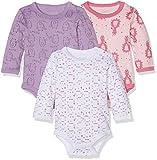 Care Baby - Mädchen Langarm-Body im 3er Pack, Mehrfarbig (Rhapsody 481), 3 Monate (Herstellergröße: 62)