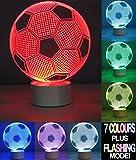 Optical Illusion 3D Football Lamp – Fußball Lampe