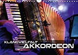 Klangvielfalt Akkordeon (Wandkalender 2019 DIN A4 quer): Konzert- und Nahaufnahmen verschiedener Akkordeons (Monatskalender, 14 Seiten ) (CALVENDO Kunst)