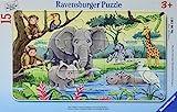 Ravensburger 06136 Tiere Afrikas Kinderpuzzle