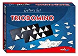 Noris Spiele 606104603 - Trio Domino, Deluxe Set
