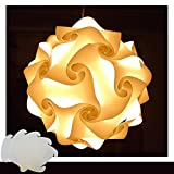 Puzzle Lampe Weiss Größe XXL Designer Lampe Hängelampe Pendellampe