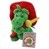 NEUHEIT ! Sweety Toys 7738 Drache GRISU mit Feuerwehrschlauch Feuerwehr Maskottchen Plüsch ca. 17 cm
