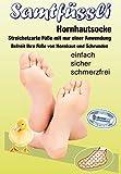SamtFüssli - Hornhautsocke - Streichelzarte Füße mit nur einer Anwendung
