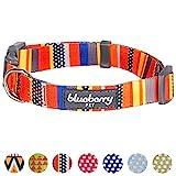 Blueberry Pet Hundehalsband Seefahrtsflaggen Inspiriert Designer 2 cm M Basic Polyester Nylon Hundehalsband
